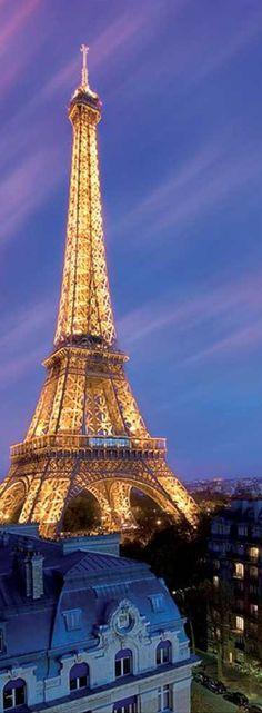 Beautiful! Eiffel tower at night