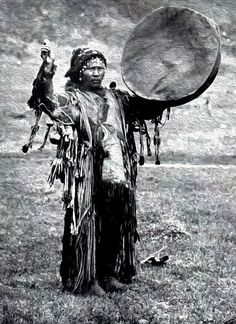 Medicine Man from the Altai Mountains Siberia