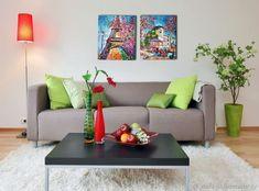 Переулочки Монмартра картина маслом на холсте – купить в интернет-магазине на Ярмарке Мастеров с доставкой - FHPK1RU