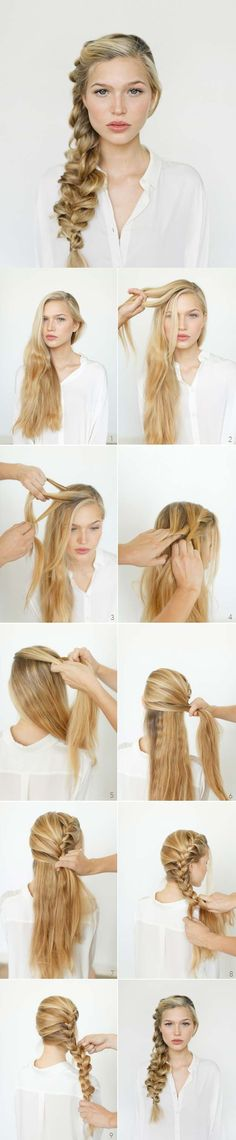 Best Hairstyles For Your 20s -Romantic Side Braid Hair Tutorial- Hair Dos And Don'ts For Your 20s, With The Best Haircuts For Women In Their 20s, Including Short Hairstyle Ideas, Flattering Haircuts For Medium Length Hair, And Tips And Tricks For Taming Long Hair In Your 20s. Low Maintenance Hair Styles And Looks For A 20 Year Old Woman. . Hairstyles For 25 Year Old Woman. Simple Step By Step Tutorials And Tips For Hair Styles You Can Use To Look Beautiful At Any Event. Hair styles For Curly…
