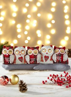 Burlete búhos - Owl Draught Excluder - Paraspifferi