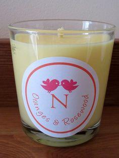 Natural Aromatherapy Soy Candle by Nyan Nyan, Oranges & Rosewood   wowthankyou.co.uk £9.50
