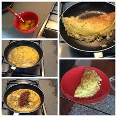 Omelete du fromage