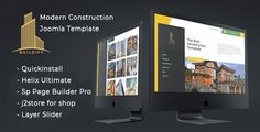 Buildify - Construction / Industry / Factory Joomla Template With Page Builder ⠀ Buildify Joomla Template is built for Building Services, Architecture, Engineering, Cleaning Service and other Construction related services and it is suitable for any kind of small business activi... ⠀ # #builder #cmsthemes #codelayers #constructor #helixultimate #joomla #projecting #renovation #responsivejoomlatemplate #sppagebuilderpro #themeforest #architecture #business #plumber #engineering #interior #cor Sticky Navigation, Carpentry And Joinery, Plumbing Problems, Built In Furniture, Joomla Templates, Building A Website, Create Website, Best Wordpress Themes, Website Template