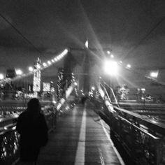 New York City Photo Impressions | #NYCPhotos #NYCPI | On The Brooklyn Bridge | nycphotoimpressions.com | New York City Photos, Brooklyn Bridge, Nyc, New York