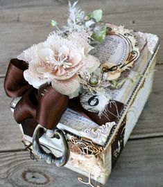 "** Altered Cigar Box ""Prima Engraver"" @mirandaedney"