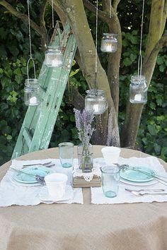 lovely lights in jars