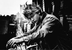 River Phoenix Black and White Photography