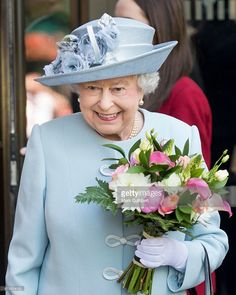 Queen Elizabeth II attends the Centenary Annual Meeting of The National Federation Of Women's Institute at Royal Albert Hall on June 4, 2015 in London, England.  (Photo by Mark Cuthbert/UK Press via Getty Images)