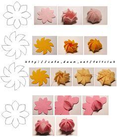 Adornos >Pastel de fresa y chocolate (en fieltro)