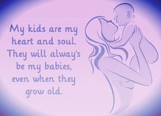 My kids will always be my babies ♡