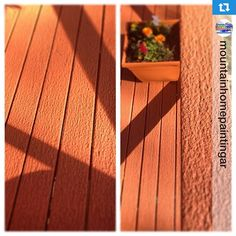 That's what an amazing deck restoration can look like without replacing the wood! Use Deck-A-New to refinish your deck with renewed traction and color #AnvilPaints #DeckANew #homerepair #DIY #decks