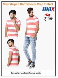 : Stripes : Slim : Casual : Cotton Blend : Great Value