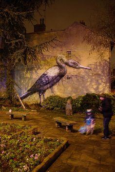 The Webby Award-winning arts magazine. Covering fine art, tattoo, graffiti, design, and cinema. 3d Street Art, Street Art Graffiti, Sidewalk Art, Mural Wall Art, Illusion Art, Outdoor Art, Land Art, Magazine Art, Public Art