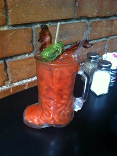 Bloody Mary from Bread Winners Cafe and Bakery in Dallas, TX