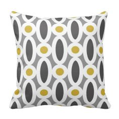 Modern Oval Links Pattern in Mustard and Grey Pillow today price drop and special promotion. Get The best buyDiscount Deals          Modern Oval Links Pattern in Mustard and Grey Pillow Here a great deal...