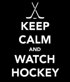the only spinoff of this british propaganda I actually fine funny, although I am anything but calm when watching hockey