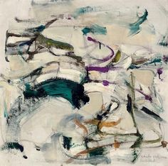 Joan Mitchell.                                                                                                                                                      More