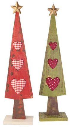Wooden Nordic Table Top Christmas Tree - £14.99 - The Contemporary Home Online Shop