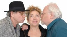 Hello, sweeties! River Song and two Doctors at Big Finish! 💙💚💛