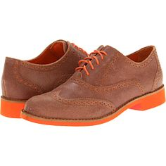 Cole Haan Alisa Oxford  I NEED these exact shoes minus that bright orange!! Someone help me find them!!
