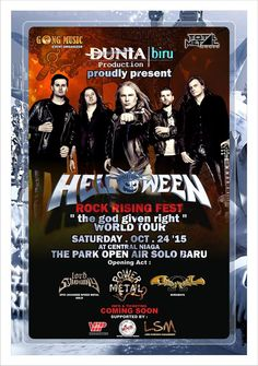 Helloween – The God Given Right World Tour (Solo)