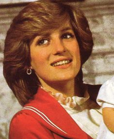 """Princess Diana as a new, young mom. She said that, """"William saved her."""" She knew what it was like to live in a family with little love. Unknowingly, she married into the same type family, but her boys were her life."""