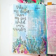 Bible Journaling by Kelsie @kelsienoellee | 1 John