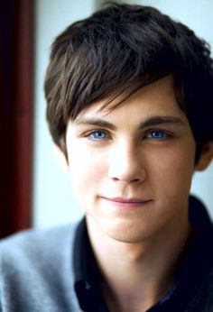 I don't have a role for him yet, but I will think of one because I think he's adorable and he is Percy Jackson - Logan Lerman
