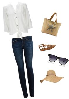 """""""beach day✌"""" by maria101basketball ❤ liked on Polyvore"""