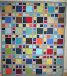 """H2H quilt again. Looks like a good guy quilt ... See the quilting detail pinned in """"Quilting Techniques"""""""