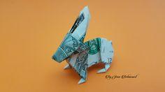 Dollar Origami Rabbit