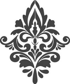 Hand Embroidery Design Patterns, Wall Stencil Patterns, Embroidery Flowers Pattern, Stencil Designs, Printable Stencil Patterns, Cool Stencils, Drawing Stencils, Stencil Painting, Leaf Stencil
