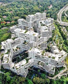 "2,448 curtidas, 16 comentários - ARCHITECTURE NOW (@architecturenow) no Instagram: ""The interlace by Ole Scheeren & OMA (2013) in #Singapore"""