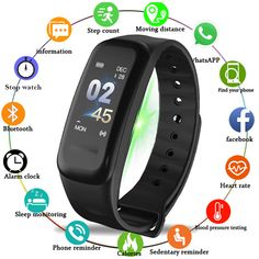 e7b30438628f SANDA Bluetooth Smartwatch Sport Fitness Smart Watch Men Women Intelligent  Bracelet Watches for iPhone Android IOS