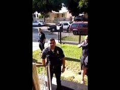 7 COPS ARREST KID FOR NO HELMET