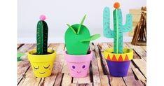 Cactus en papier - Activités enfantines - 10 Doigts