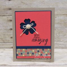 Punched Flower and Fringed bottom (use Cricut)