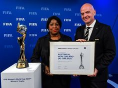 Australia-New Zealand wins bid to host 2023 FIFA Women's World Cup | Sports Mirchi Football S, World Football, Fifa Women's World Cup, New Zealand, Best Games, All Over The World, Cool Things To Make, Philippines, Australia