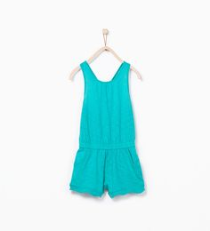 Image 1 of Organic cotton dungarees from Zara