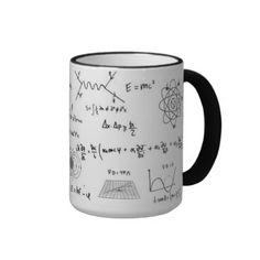 Physics formulas and diagrams Coffe Mug Caneca