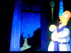 "▶ Edgar Allan Poe ""the raven"" Simpson's episode - YouTube"