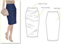 Image result for denim skirt sewing pattern