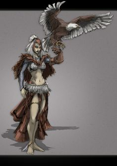 The Sorceress by ~feuerkorn on deviantART