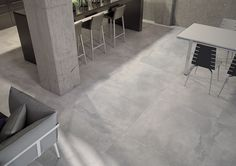 No 1540 Subtle Concrete Effect Porcelain Range