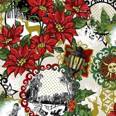 Image result for christmas fabric