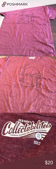 Old Navy boba fett tee NWOT was gifted but never worn. Simple boba fett design on front. Old Navy Shirts Tees - Short Sleeve