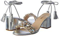 Gedebe Elizalam.argent, Women's Open Toe Sandals: Amazon.co.uk: Shoes & Bags