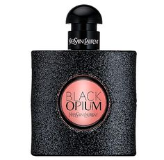 Black Opium is the new highly addictive feminine fragrance from Yves Saint Laurent. Fascinating and seductively intoxicating, the opening notes of adrenaline-rich coffee and the sweet sensuality of vanilla recline into the softness of white flowers f Parfum Opium, Black Opium Perfume, Ysl Black Opium, Perfume Parfum, Perfume Zara, Perfume And Cologne