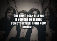 Come Together - The Beatles  The tight knit, collaborative culture of the Texas MBA community draws me to the program.